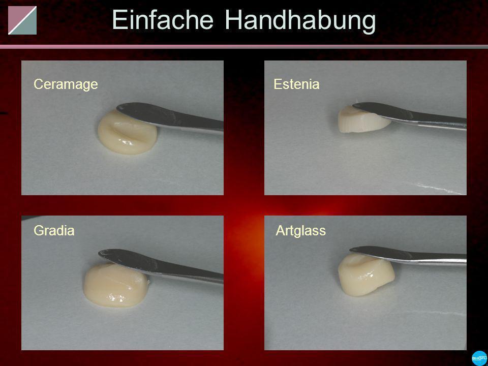 Einfache Handhabung Ceramage Estenia Gradia Artglass