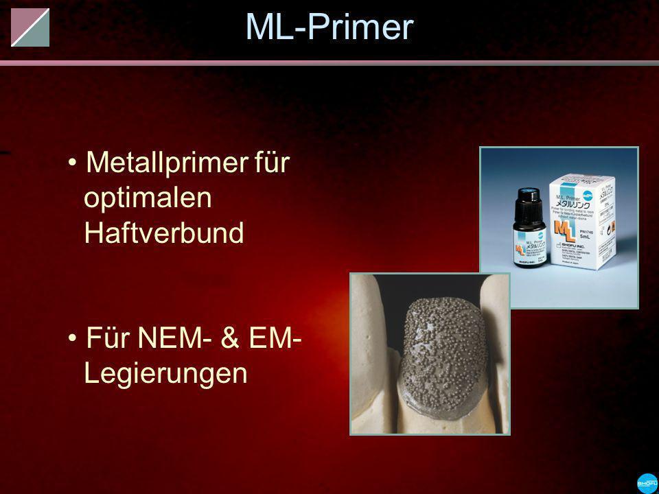 ML-Primer Metallprimer für optimalen Haftverbund