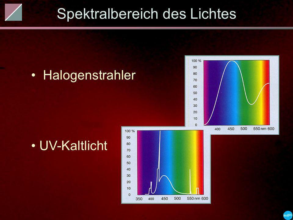 Spektralbereich des Lichtes
