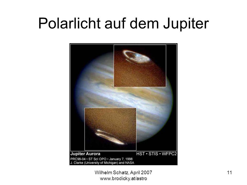 Polarlicht auf dem Jupiter