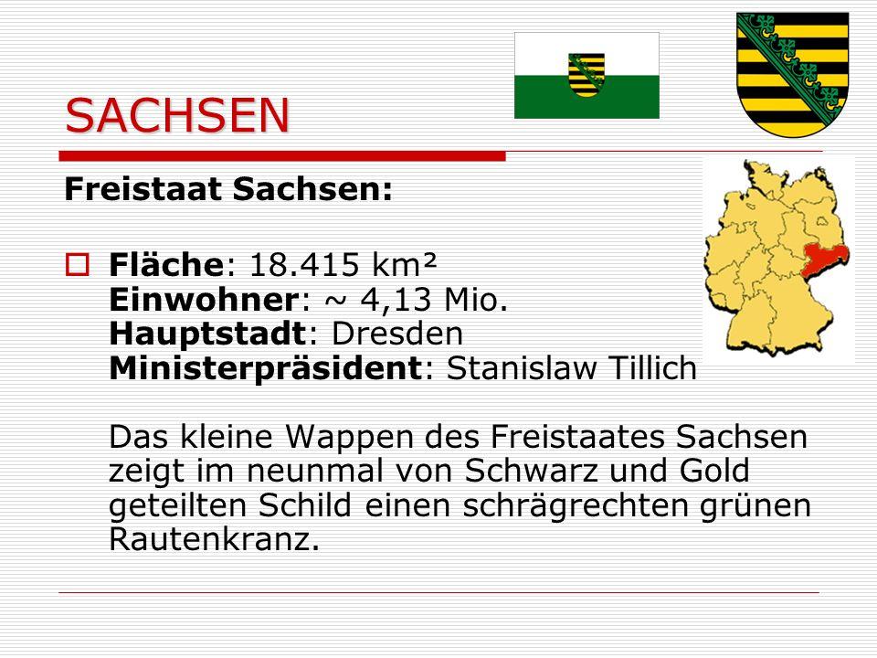 SACHSEN Freistaat Sachsen: