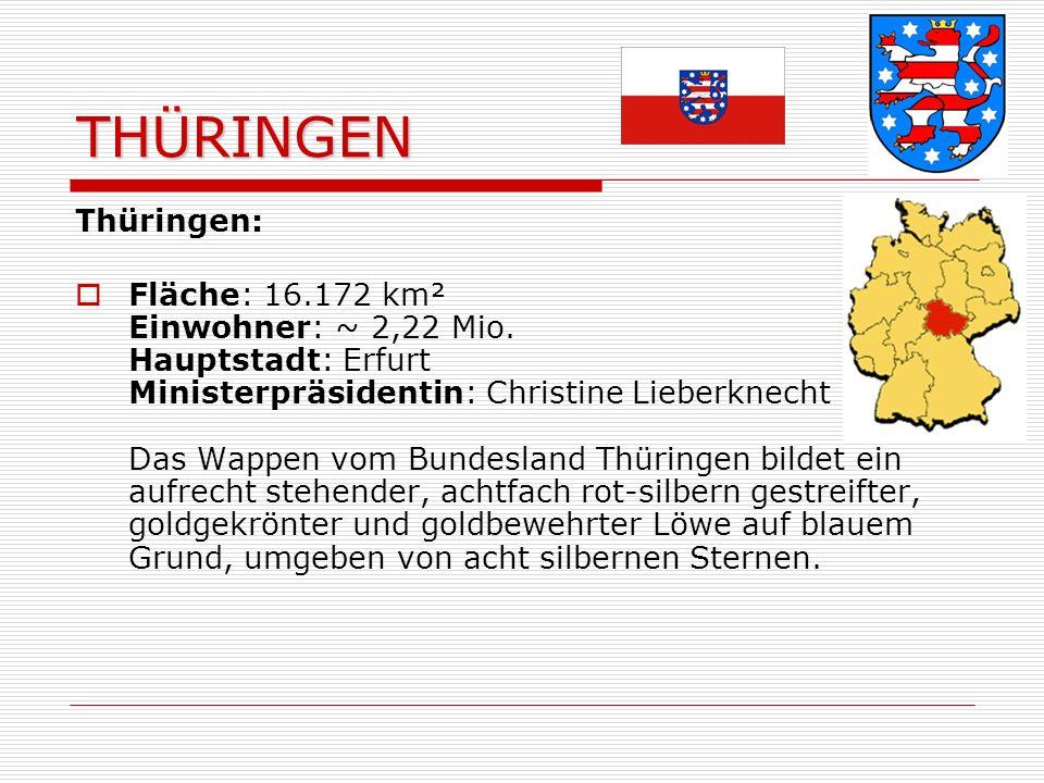 THÜRINGEN Thüringen: