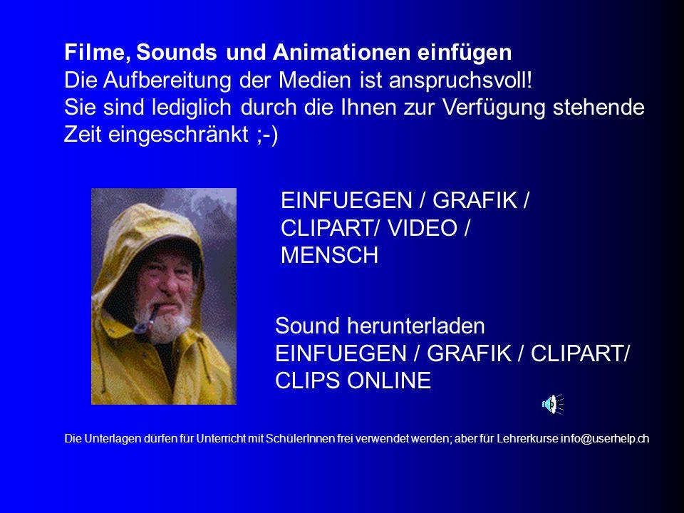EINFUEGEN / GRAFIK / CLIPART/ VIDEO / MENSCH