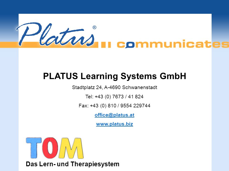PLATUS Learning Systems GmbH