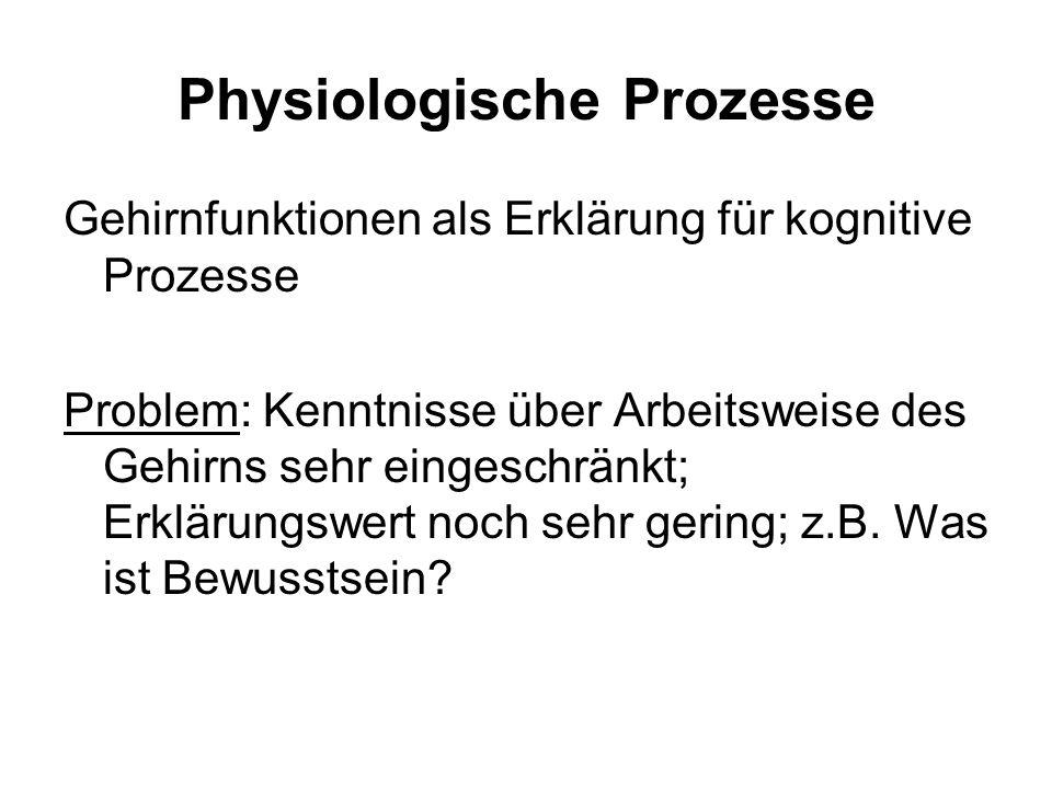 Physiologische Prozesse