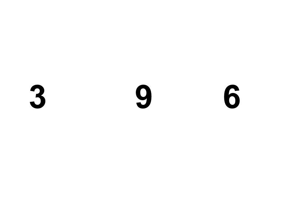 3 9 6