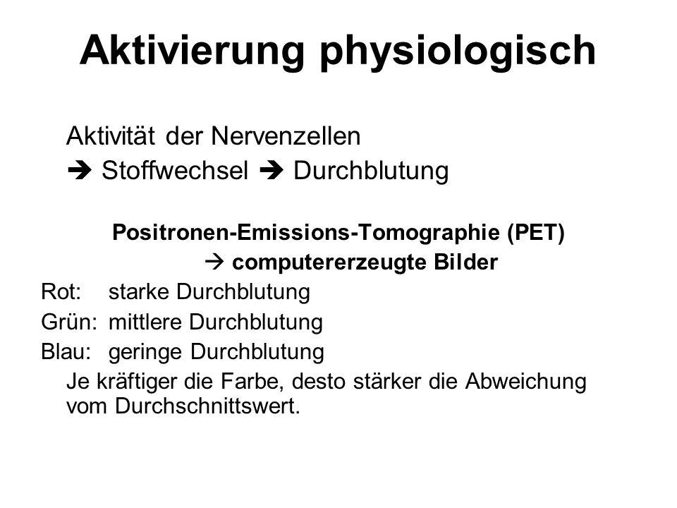 Aktivierung physiologisch