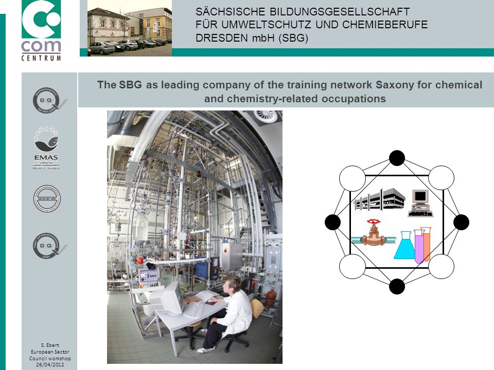 The SBG as leading company of the training network Saxony for chemical and chemistry-related occupations