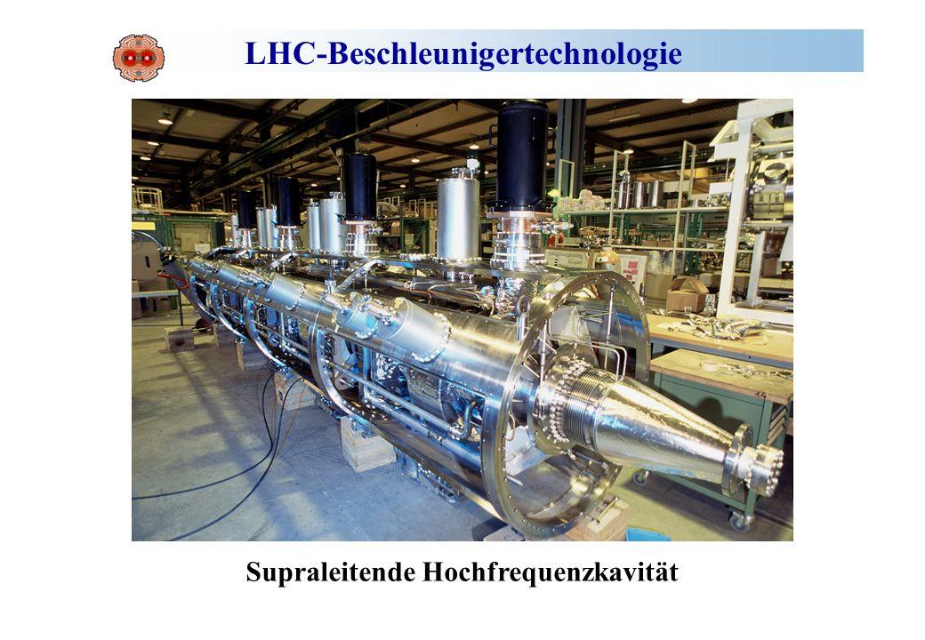 LHC-Beschleunigertechnologie
