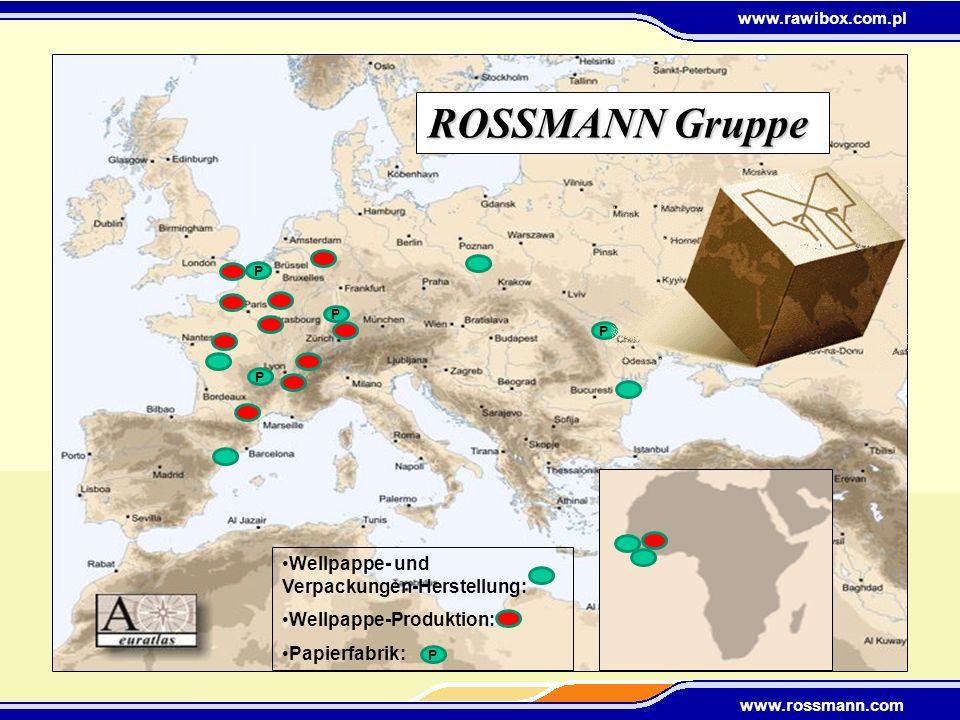 ROSSMANN Gruppe Wellpappe- und Verpackungen-Herstellung:
