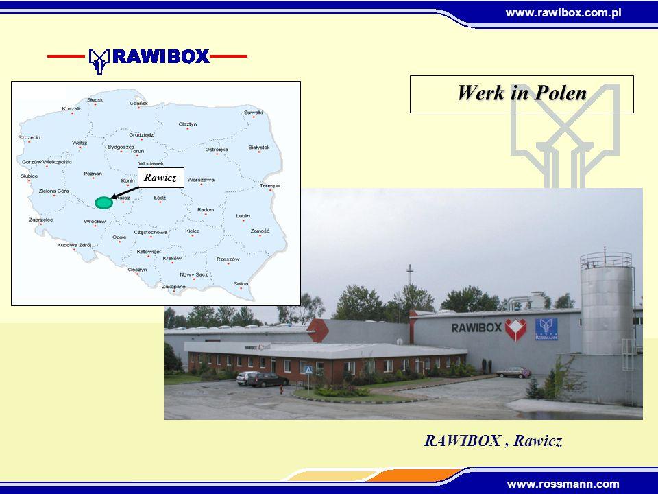Werk in Polen Rawicz RAWIBOX , Rawicz