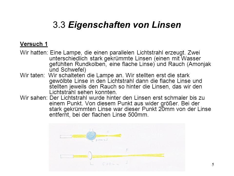 3.3 Eigenschaften von Linsen
