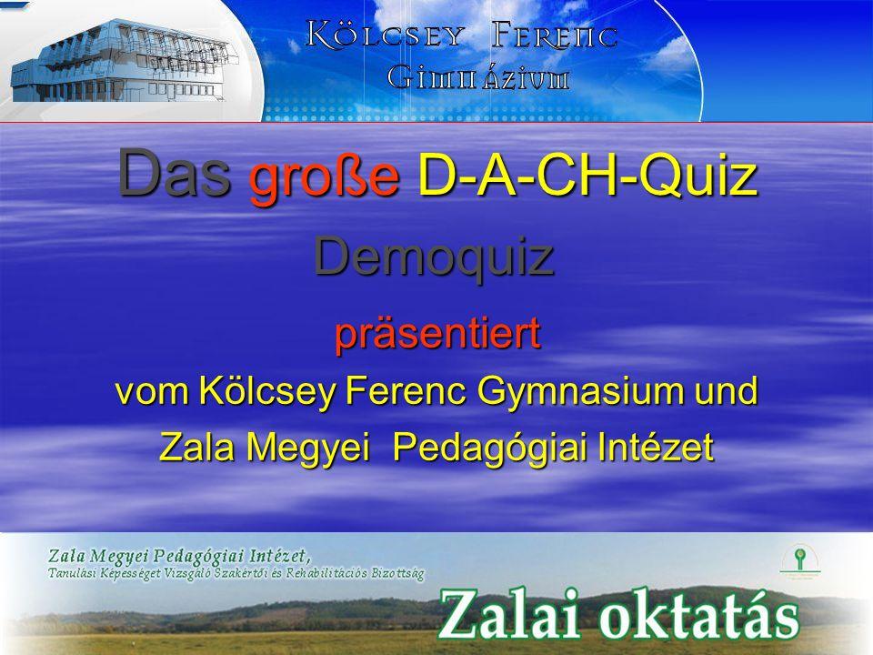 Das große D-A-CH-Quiz Demoquiz präsentiert