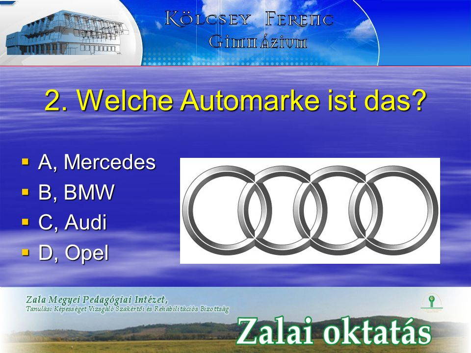 2. Welche Automarke ist das