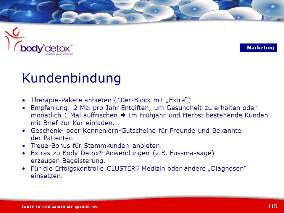 """Kundenbindung Therapie-Pakete anbieten (10er-Block mit """"Extra )"""