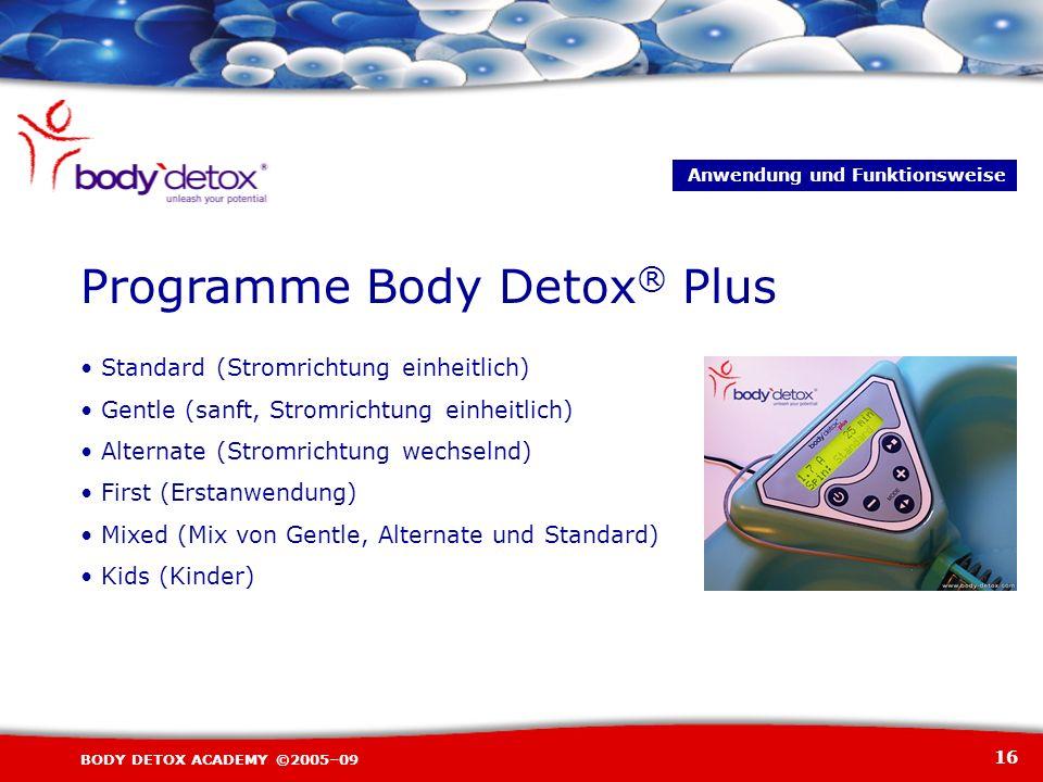Programme Body Detox® Plus