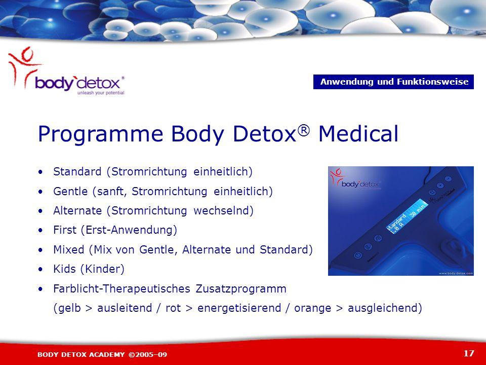 Programme Body Detox® Medical