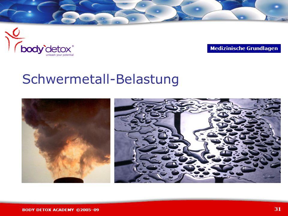 Schwermetall-Belastung
