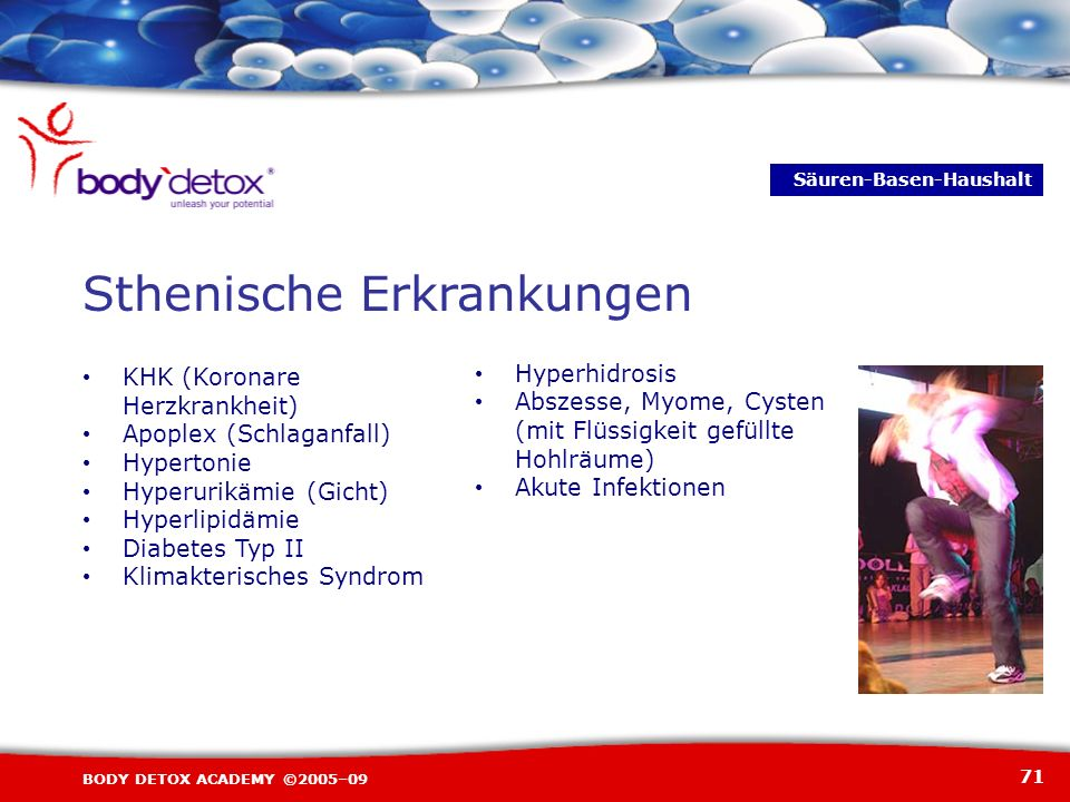 Sthenische Erkrankungen
