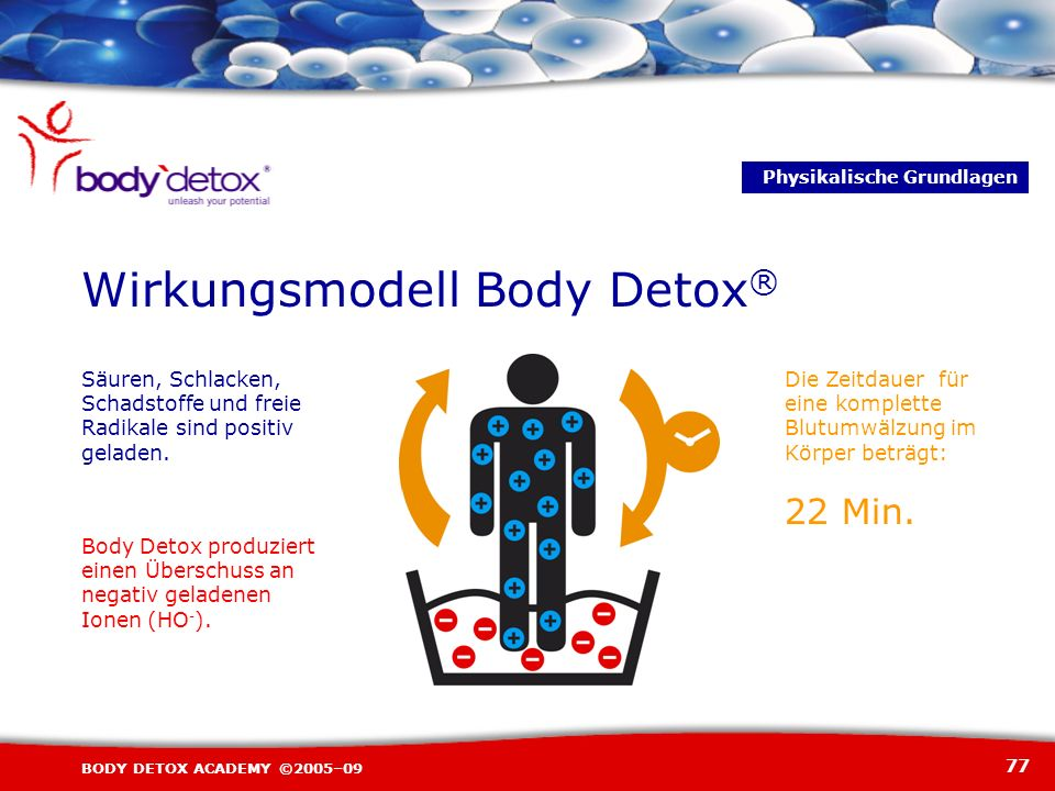 Wirkungsmodell Body Detox®