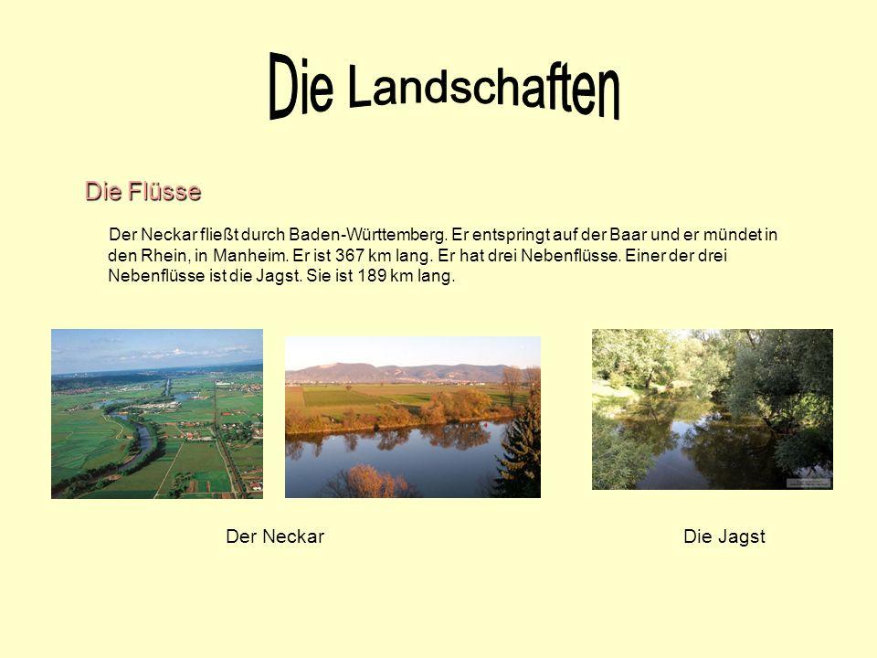 Die Landschaften Die Flüsse Der Neckar Die Jagst