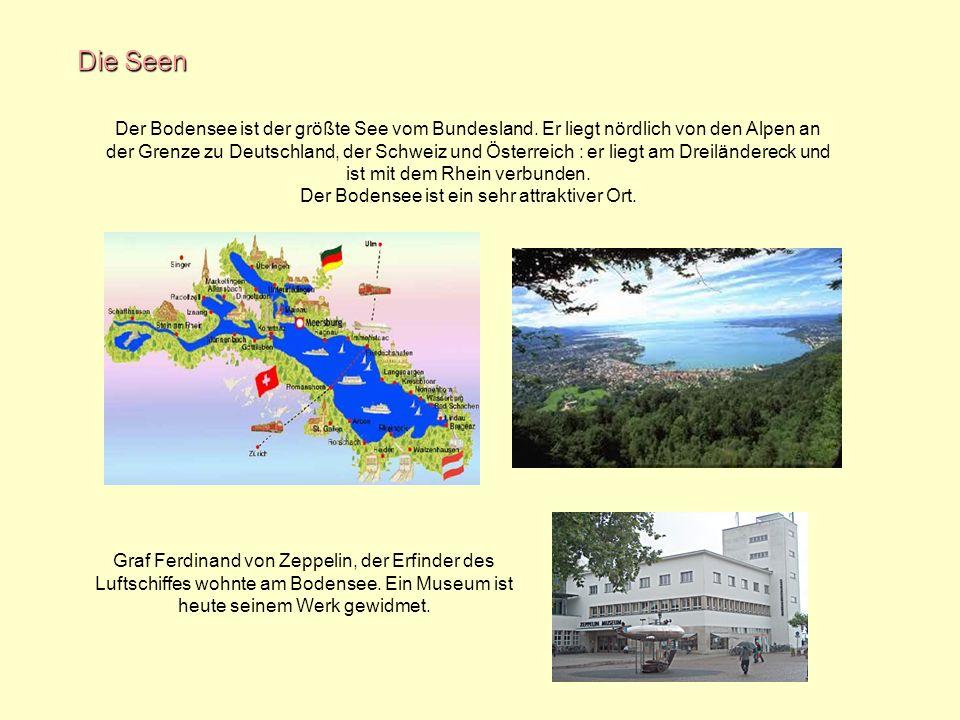 Der Bodensee ist ein sehr attraktiver Ort.