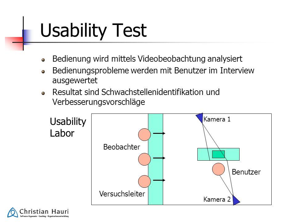 Usability Test Usability Labor
