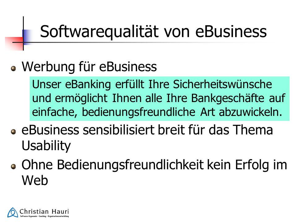 Softwarequalität von eBusiness