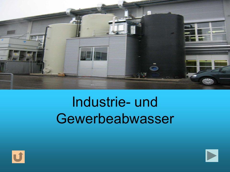 Industrie- und Gewerbeabwasser
