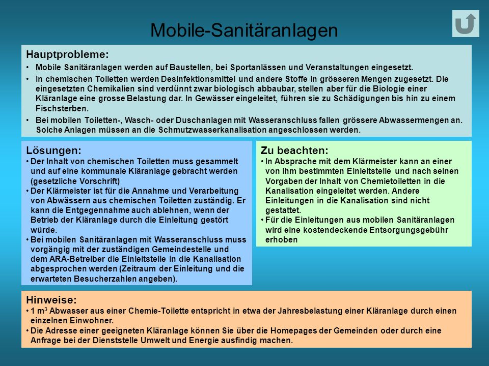 Mobile-Sanitäranlagen