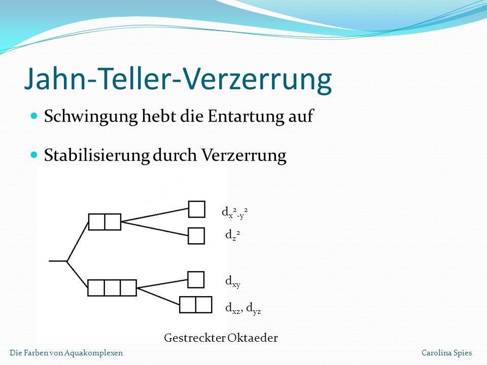 Jahn-Teller-Verzerrung