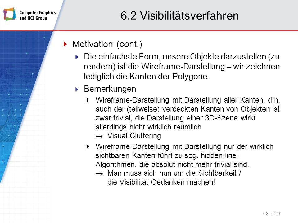 6.2 Visibilitätsverfahren