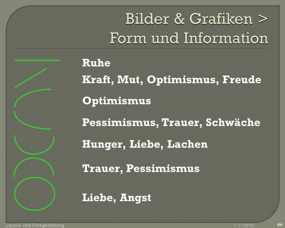Bilder & Grafiken > Form und Information