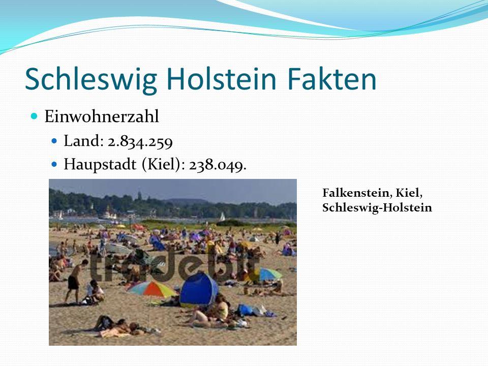 Schleswig Holstein Fakten