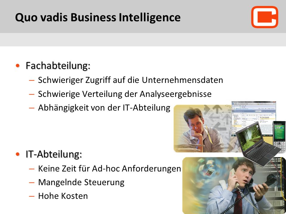 Quo vadis Business Intelligence