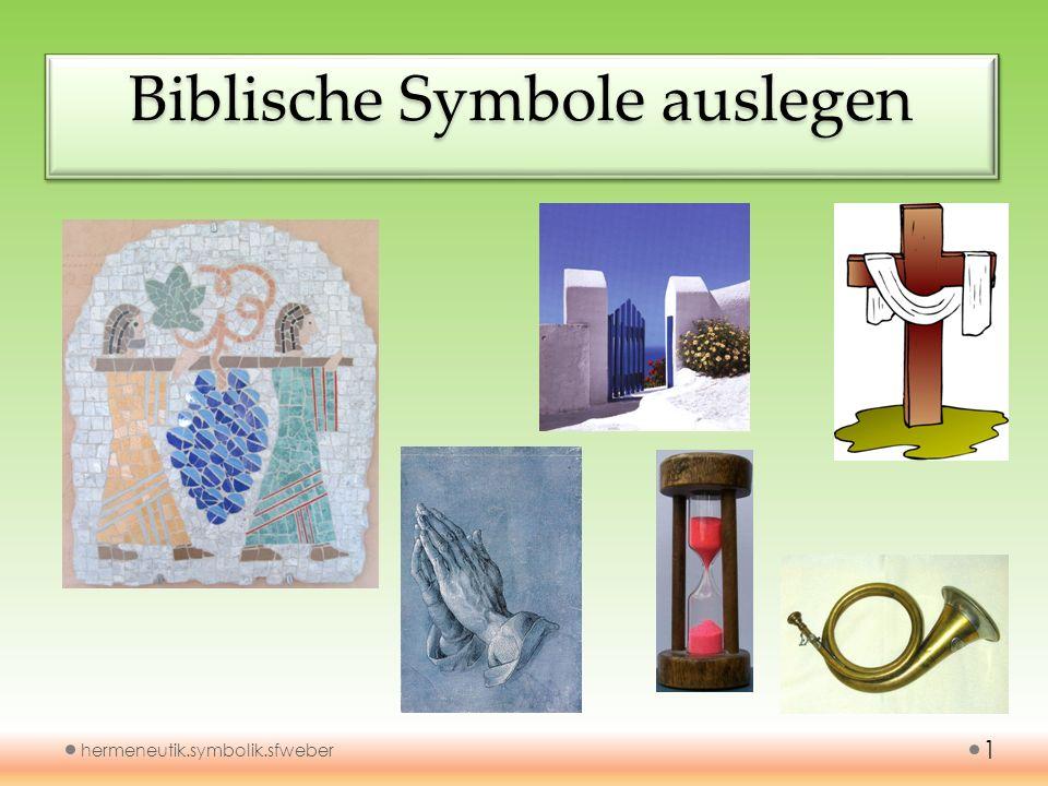 Biblische Symbole auslegen