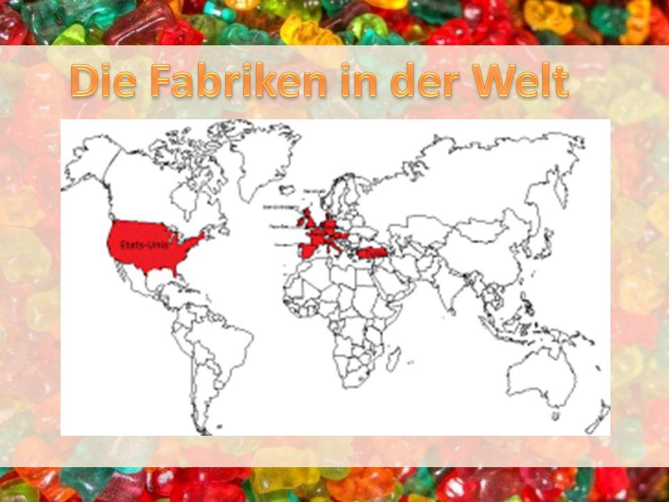 Die Fabriken in der Welt