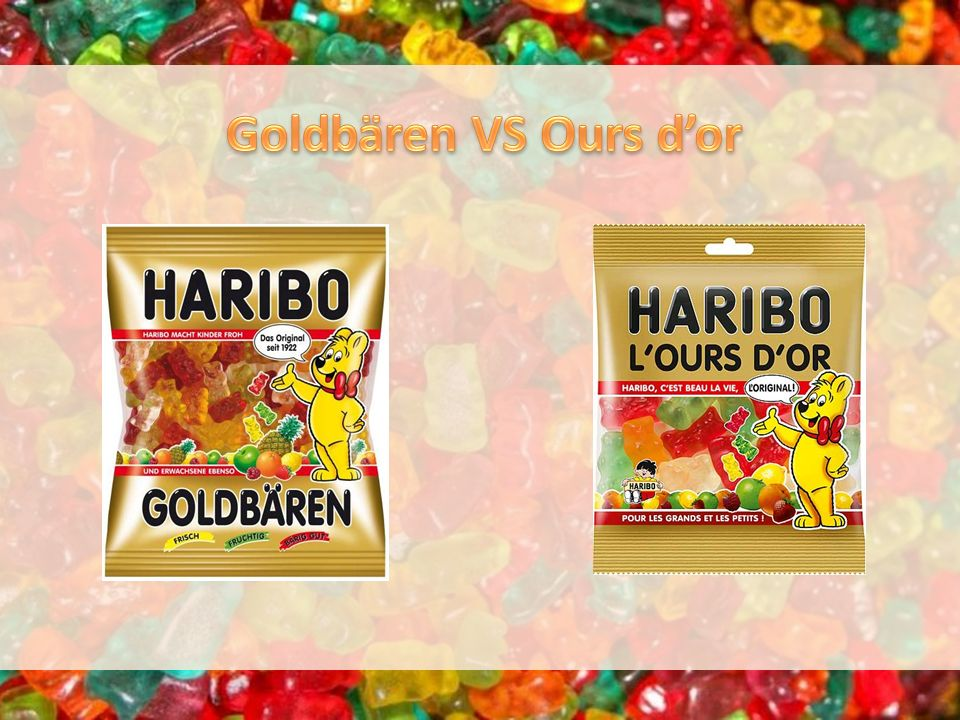 Goldbären VS Ours d'or