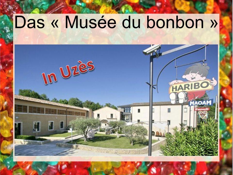 Das « Musée du bonbon » In Uzès