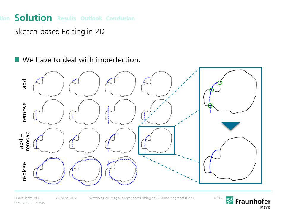 Solution Sketch-based Editing in 2D