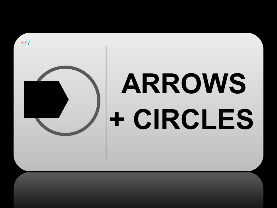 77 ARROWS + CIRCLES