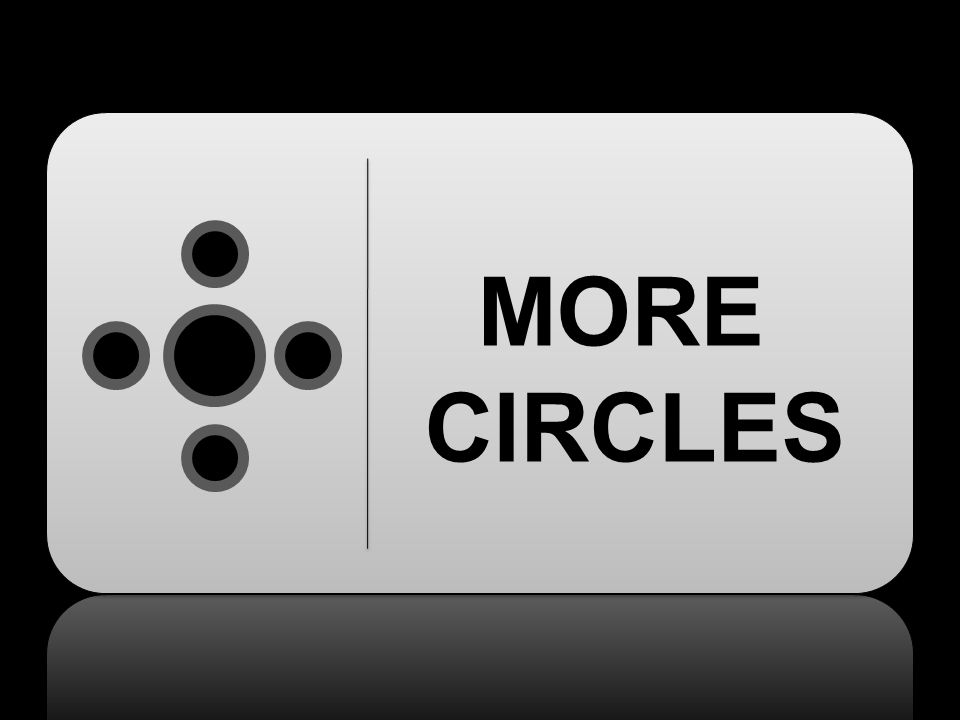 MORE CIRCLES