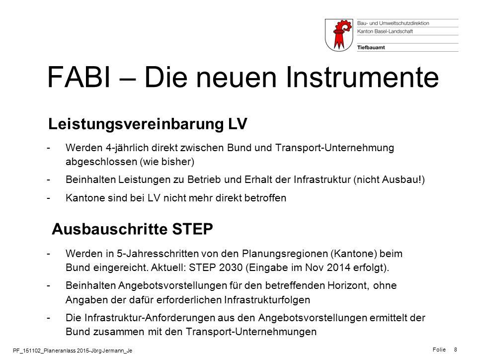 FABI – Die neuen Instrumente
