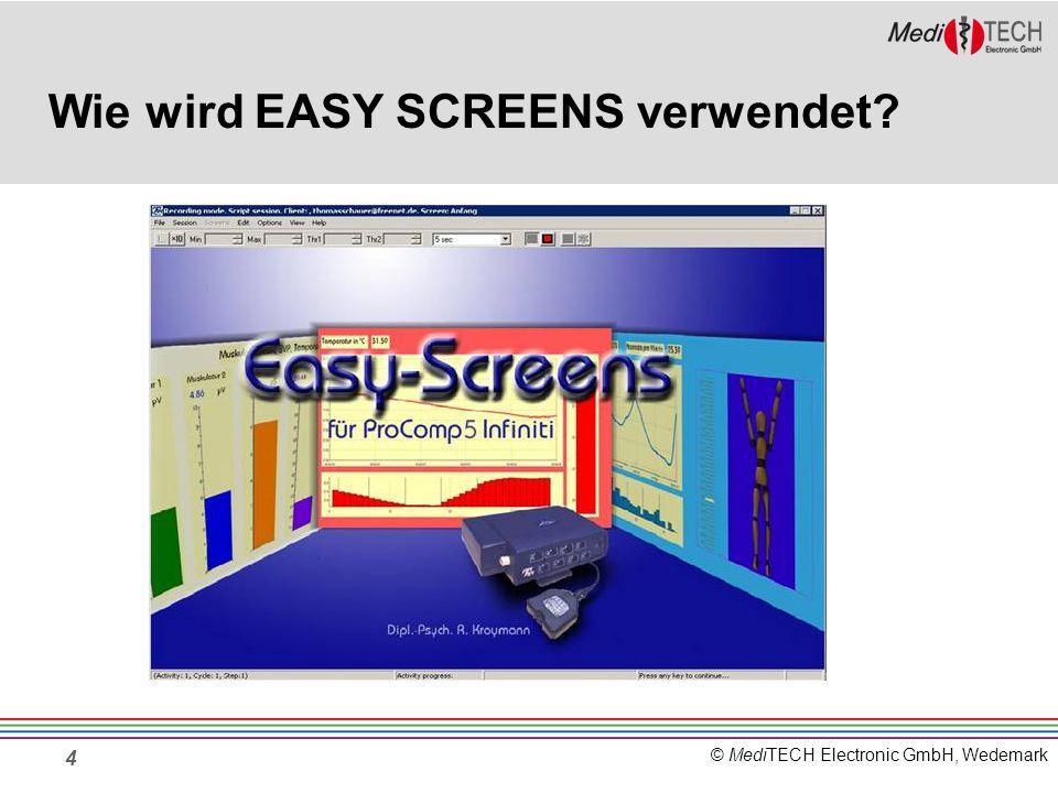 Wie wird EASY SCREENS verwendet