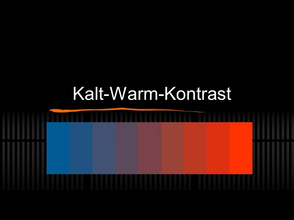 Kalt-Warm-Kontrast