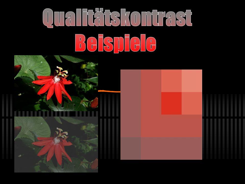 Qualitätskontrast Beispiele