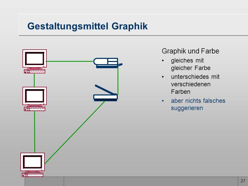 Gestaltungsmittel Graphik