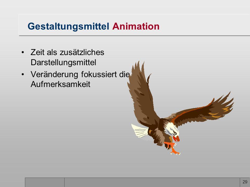 Gestaltungsmittel Animation