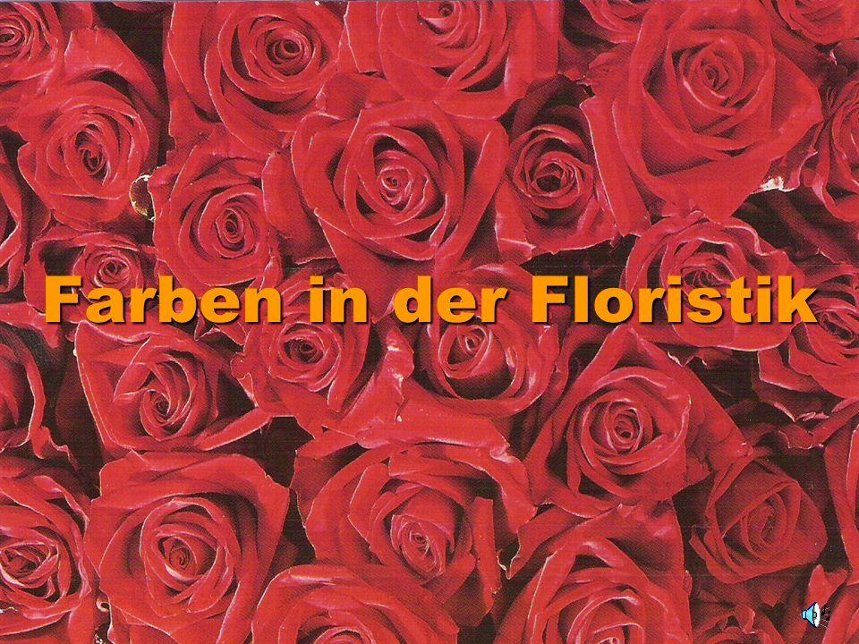 Farben in der Floristik