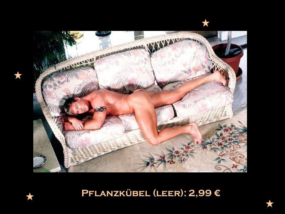 Pflanzkübel (leer): 2,99 €